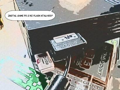 Cara main PS2 menggunakan Flashdisk / Harddisk