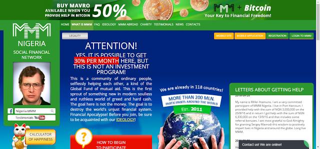 MMM Nigeria How To Make Money Online - Make 30%