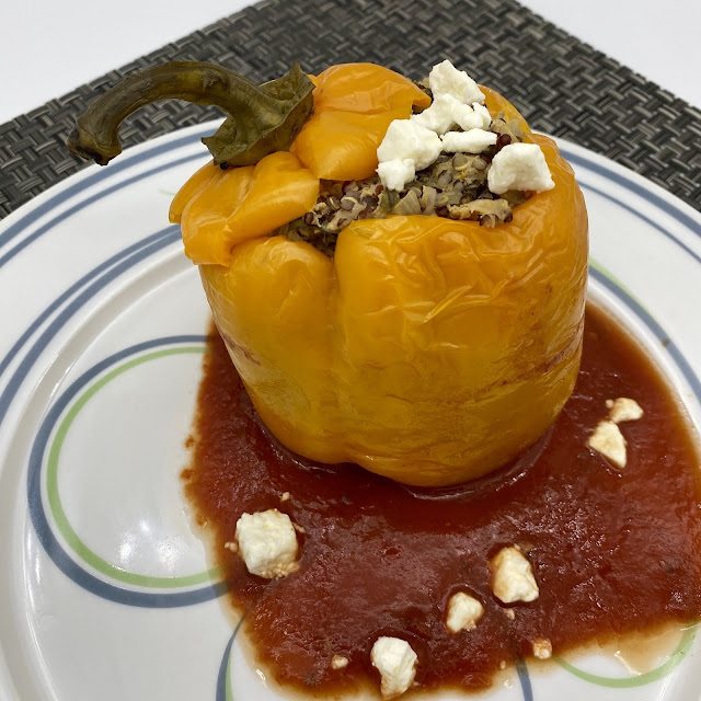 Mediterranean Diet Stuffed Peppers