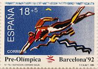 PRE-OLÍMPICA BARCELONA 92. NATACIÓN