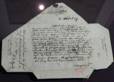 Lettre de W. A. Mozart à Nannerl, 17778