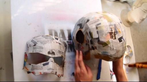 Dali lomo antman costume helmet diy cardboard free template how to make antman costume helmet maxwellsz