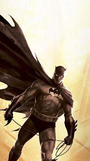 Batman The Dark Mobile HD Wallpaper