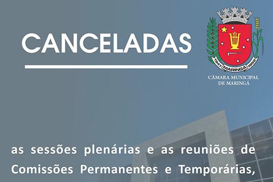 Atividades da Câmara de Maringá estão suspensas até 8 de março