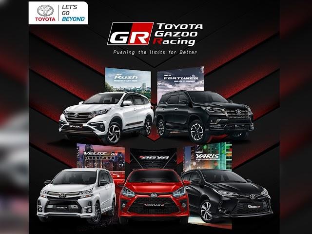 Sporty Car Kian Diminati, Toyota Perluas Pilihan dengan Hadirkan 5 Produk TOYOTA GAZOO Racing