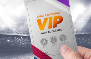 Kirolbet gana 2 entradas vip para el clasico Real Madrid vs Barcelona 1 marzo 2020