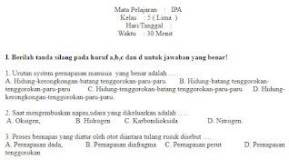 Soal-UAS-UKK-IPA-kelas-5-SD-Semester-1