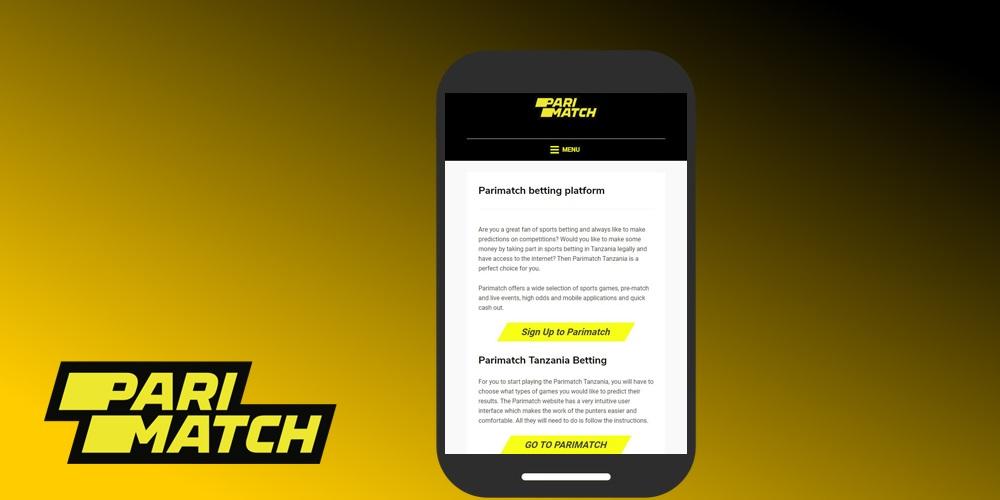 Parimatch mobile betting news bitcoins kaufen leister