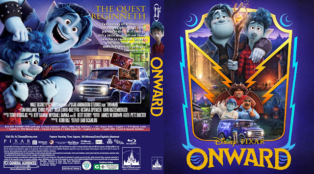 Onward Bluray Cover