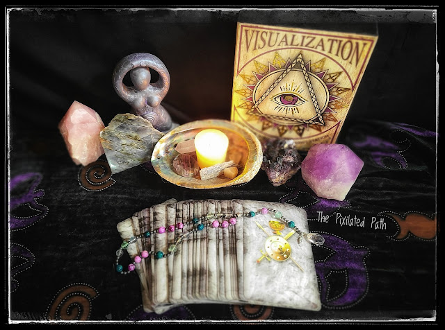 Card Reading using the Sacred Circle Tarot
