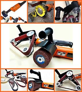Máquinas e Abrasivos para Polir Inox
