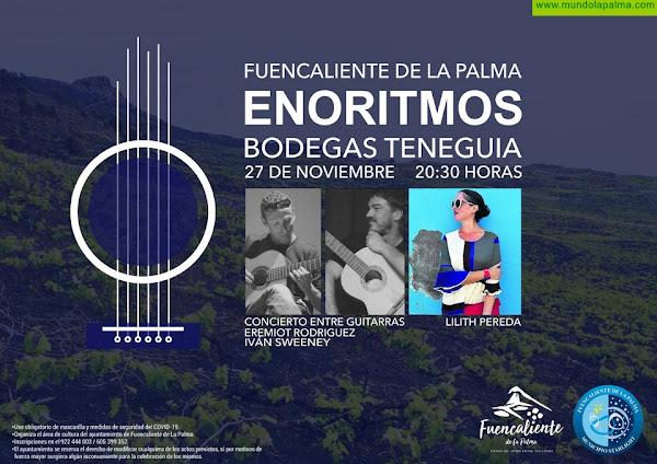 Fuencalienteinicia el festival cultural Enoritmoscon un concierto en las Bodegas Teneguía