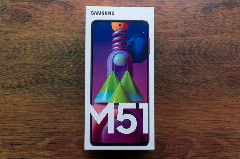 Boks Kardus Samsung Galaxy M51