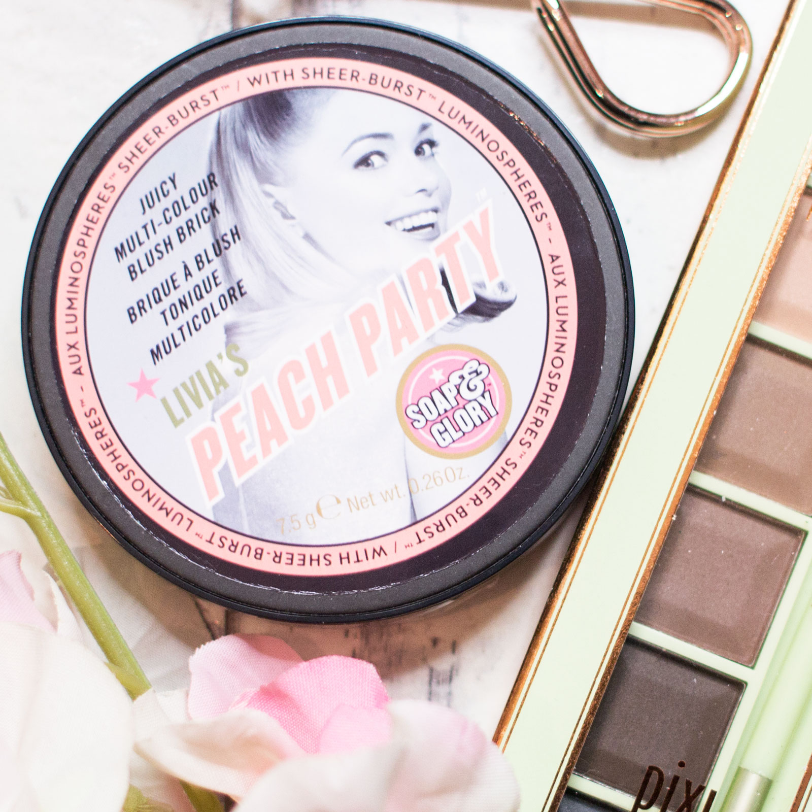 Soap and Glory Peach Party Multi-Colour Blush Brick Review Swatches