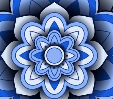 Flower Pattern Set EPS File