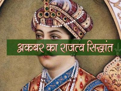 अकबर का राजत्व का सिद्धान्त Akbar's theory of kingship