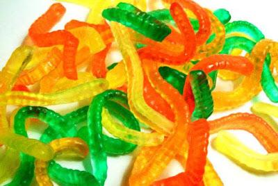 Gummy Worm Soaps