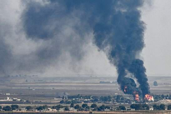 Deadly🇹🇷 Turkey Air Strikes Rocks NE 🇸🇾Syria Truce