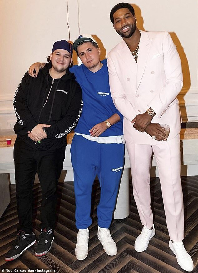 Check Out Rob Kardashian's Impressive Weight Loss As He Makes Rare Appearance At Khloe's Birthday Party (Photos) #Arewapublisize