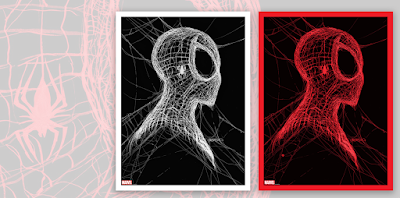 Amazing Spider-Man #55 Cover Artwork Screen Prints by Patrick Gleason x Bottleneck Gallery x Justin Ishmael x Grey Matter Art
