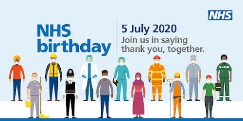 NHS Birthday clap 5pm 5th July