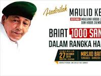 Habib Luthfi Bakal Baiat 1000 Santri Cinta NKRI di Jepara