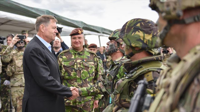 OTAN realiza maniobras en Rumanía y dice poder 'disuadir' a Rusia