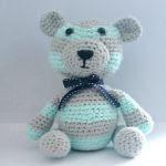 http://www.ravelry.com/patterns/library/striped-teddy-bear-3