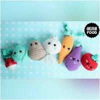 http://amigurumislandia.blogspot.com.ar/2019/08/amigurumi-vegetales-amigurumi-food.html