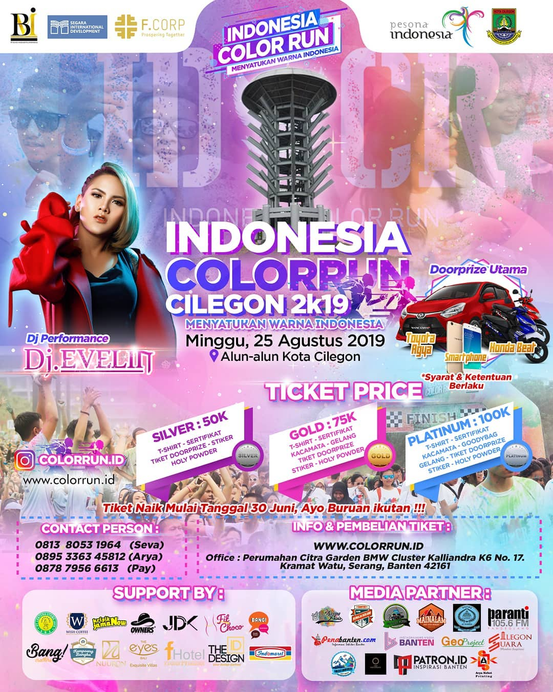 Indonesia Color Run - Cilegon • 2019