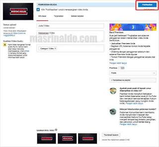 Panduan Cara Upload Video ke Youtube di Android dan Komputer 8