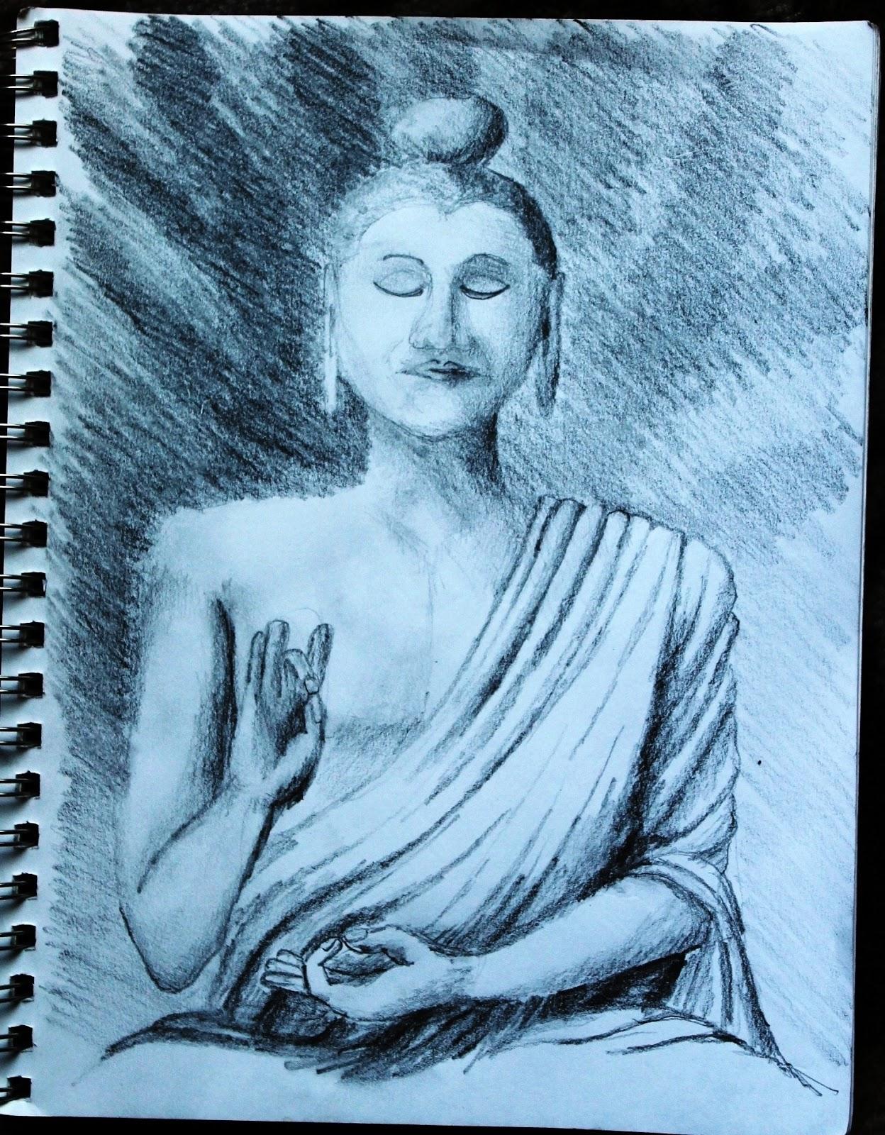 A Creative Journey, by Michael Mitchell: Buddha
