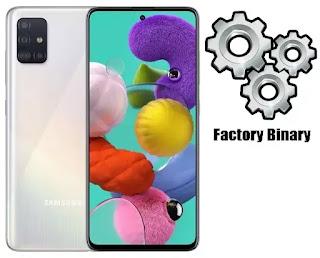 Samsung Galaxy A51 SM-A515F Combination Firmware