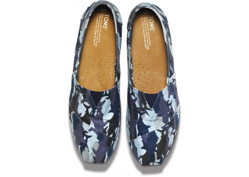 Toms Camo Shoes Womens