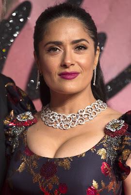 Salma Hayek Actress Photos The Fashion Awards 2016