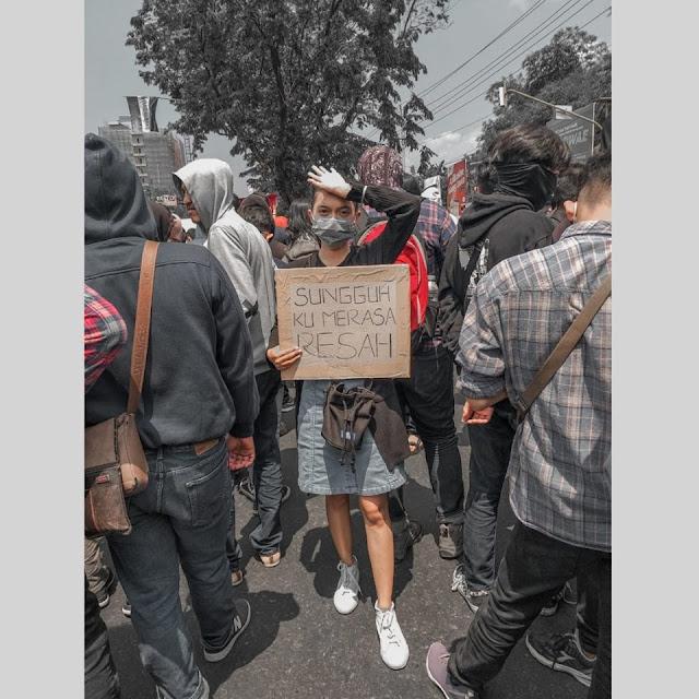 Aksi Demo Mahasiswa Tentang RUU ini Terlucu Bikin Ngakak..