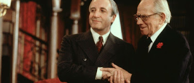 Being There - Peter Sellers and Melvyn Douglas