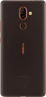 Nokia 7 Plus Black/Copper Back