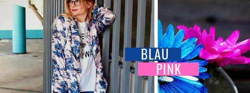 Blau-kombinieren-Rosa-Outfit