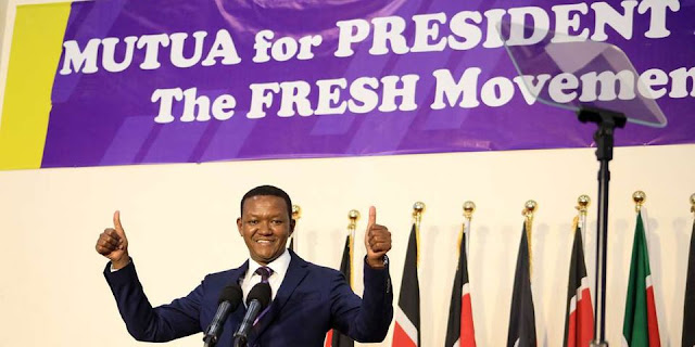 Machakos Governor Alfred Mutua bid