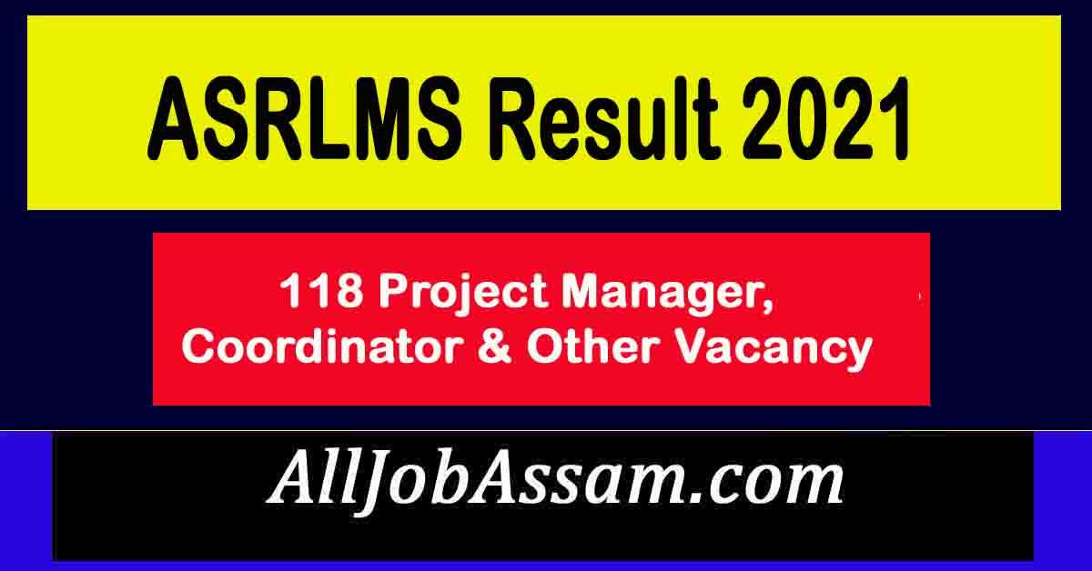 ASRLMS Result 2021