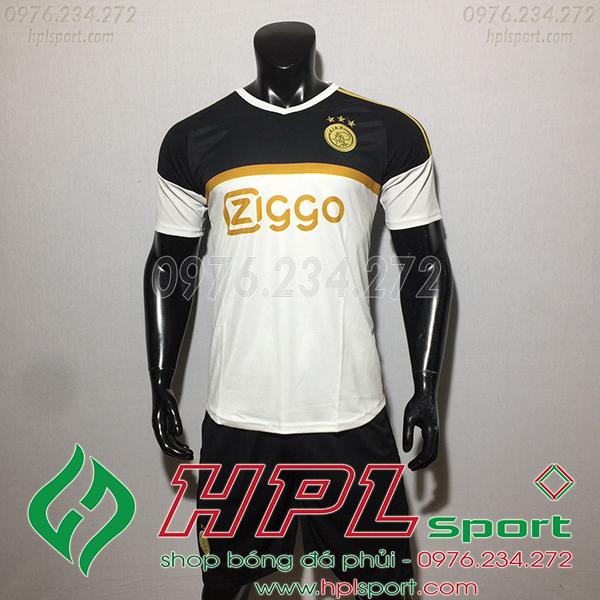 Áo CLB Ajax training màu trắng 2020