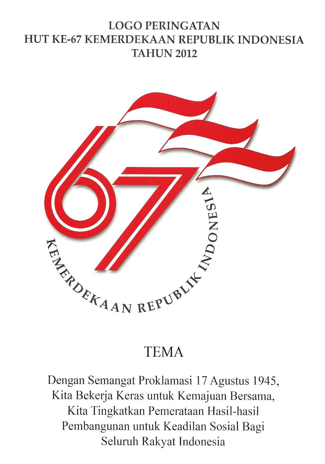 Dirgahayu Kemerdekaan RI Ke 67 Tahun 2012