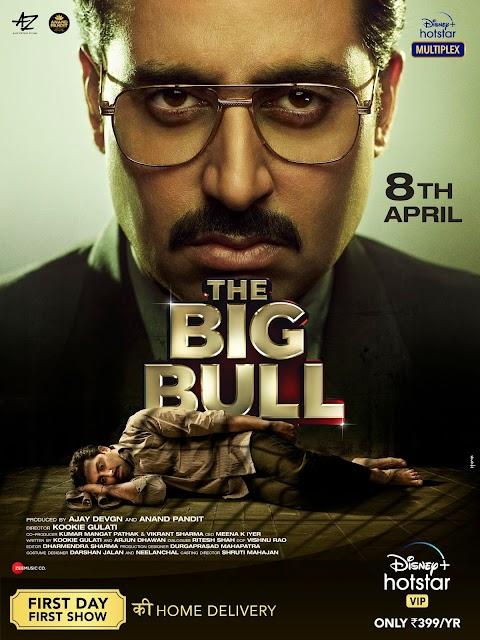THE BIG BULL (2021) Hindi TRUE WEB-DL  480p  HEVC  UNTOUCHED 600MB Download