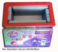box styrofoam usaha es krim mini bergambar