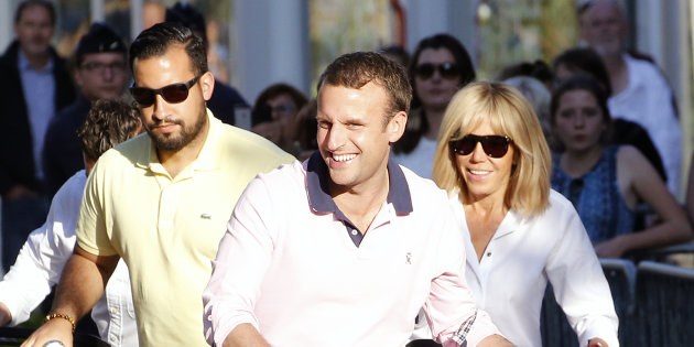 Http%2B O.aolcdn.com Hss Storage Midas Bc6e4ef309066927b7d0a822e328e96d 206543750 French President Emmanuel Macron With His Wife Brigitte Trogneux And Picture Id696991434