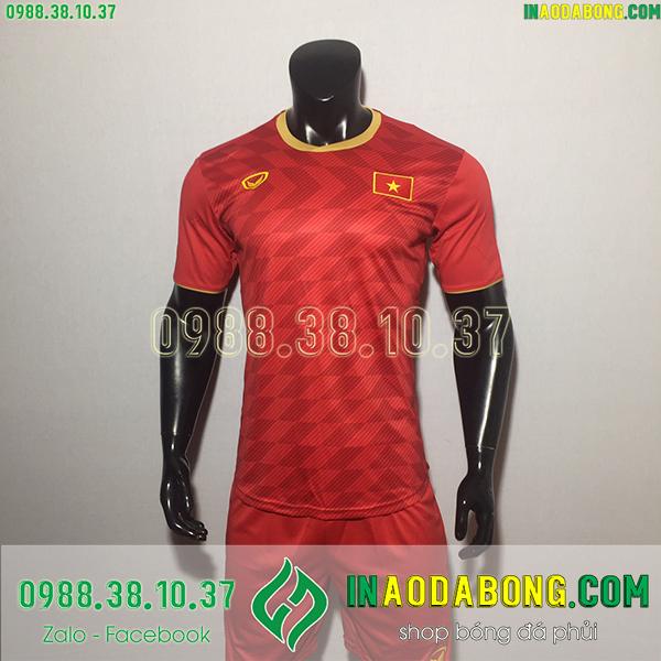 Áo bóng đá đội tuyển Việt Nam 2020 màu đỏ