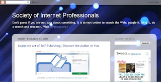 Society of Internet Professionals: Learn and Share the Art of Self-Publishing: Discover the Author in You