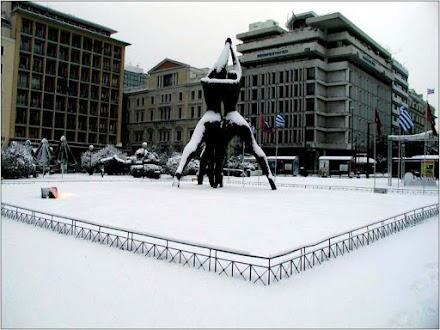 Όταν η Αθήνα ντύθηκε στα λευκά (5.1.2002)