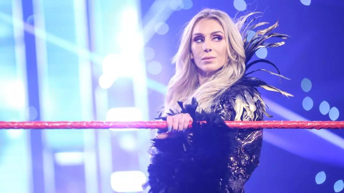 Charlotte Flair on WWE RAW